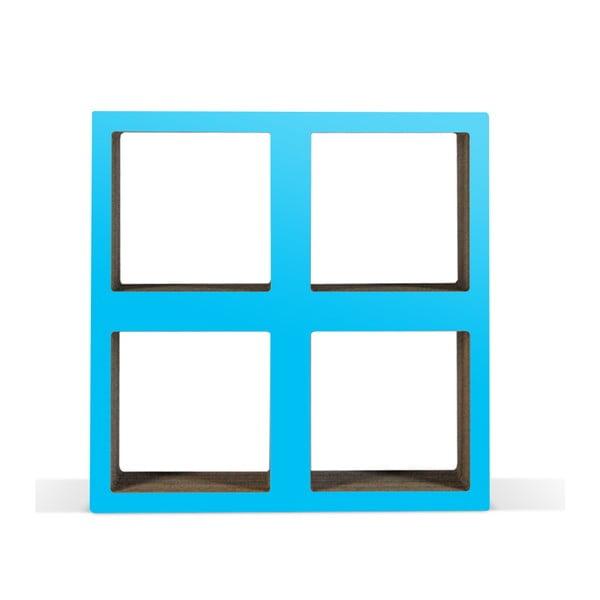 Kartonová knihovnička Bit  Square Blue