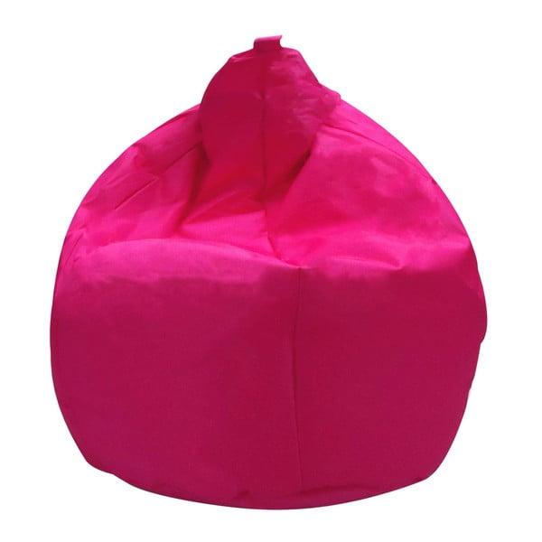 Růžový sedací vak Evergreen House Droplet
