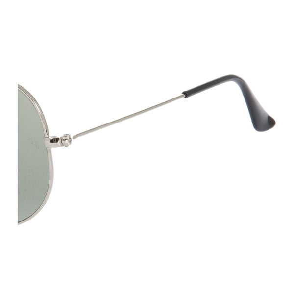 Ochelari de soare unisex Ray-Ban 3025 Silver/Green 55 mm