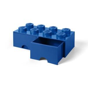 Modrý úložný box se 2 šuplíky LEGO®
