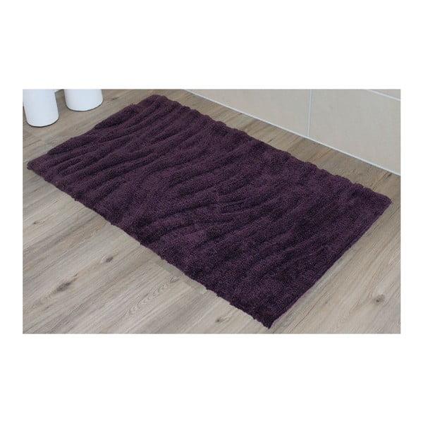 Koupelnová předložka Welle Violet, 50x70 cm