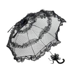 Černý holový deštník Von Lilienfeld Bridal Salomea
