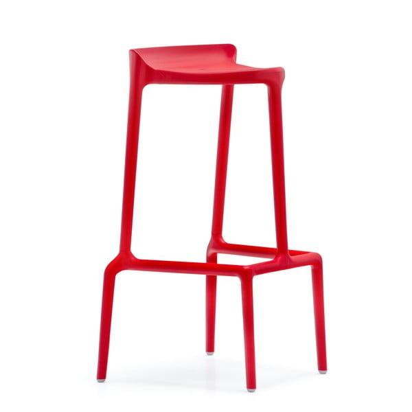 Barová židle Happy 490, červená