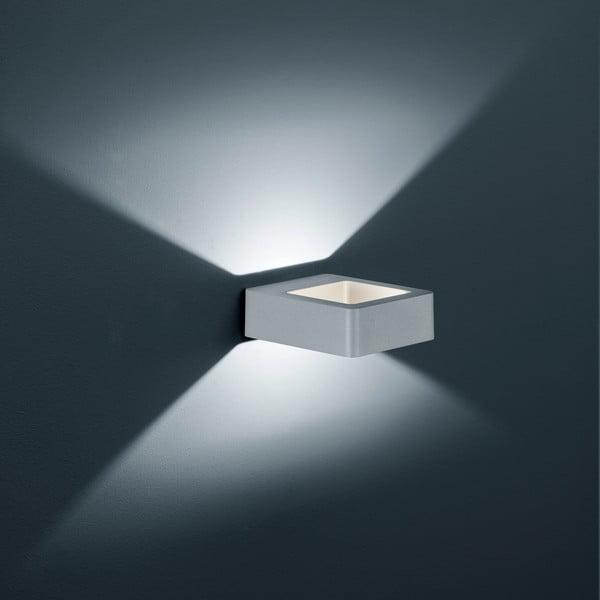 Venkovní nástěnné světlo Reno Titanium, 12 cm