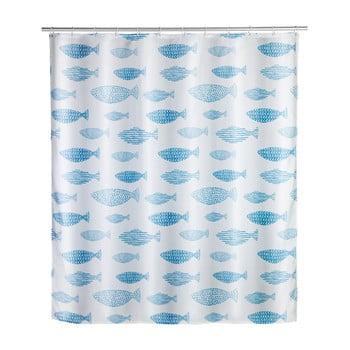 Perdea duș rezistentă la mucegai Wenko Aquamarin, 180x200cm imagine