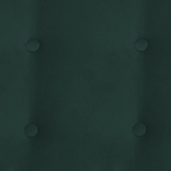 Tmavě zelená dvoumístná pohovka Vivonita Blair