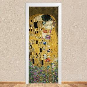 Samolepka na dveře LineArtistica Bacio Klimt, 80 x 215 cm