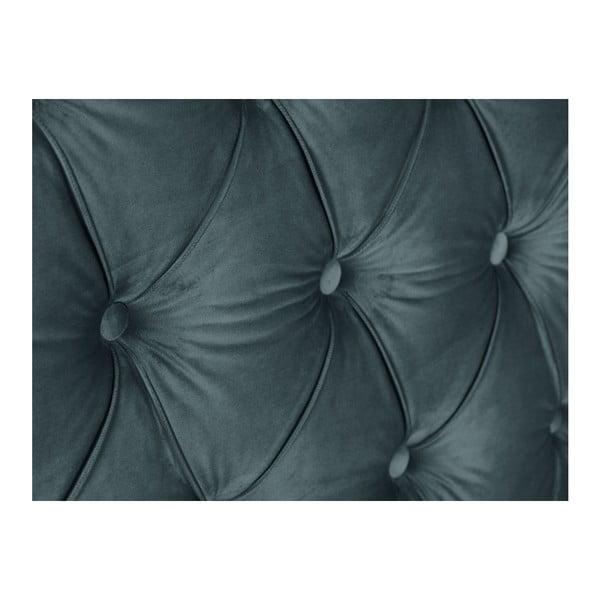 Petrlolejově zelené čelo postele Mazzini Sofas, 140 x 120 cm