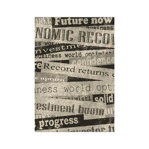Koberec Novinové titulky 120x170 cm