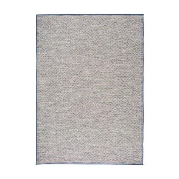 Niebieski dywan Universal Kiara odpowiedni na zewnątrz, 150x80 cm