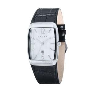Pánské hodinky Cross Arial Barrel Silver White, 32.5 mm