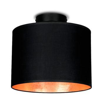 Plafonieră Sotto Luce MIKA, Ø 25 cm, negru/arămiu de la Sotto Luce
