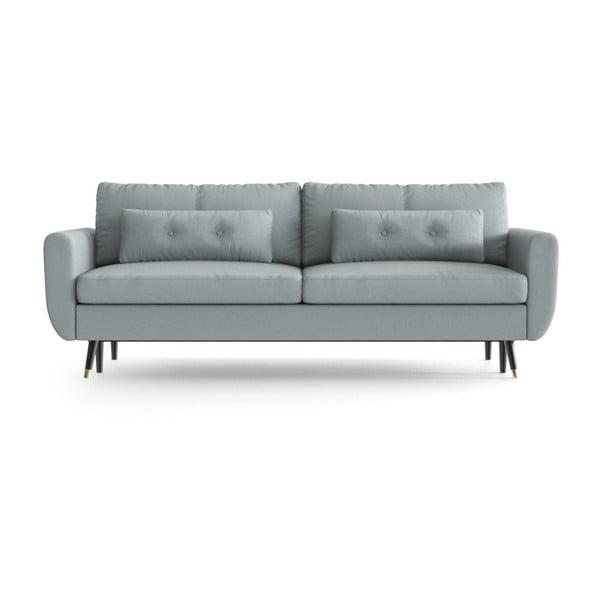 Alchimia Grey szürke háromszemélyes kinyitható kanapé - Daniel Hechter Home