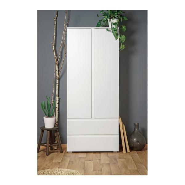 Bílá dvoudveřová skříňka se 2 zásuvkami Intertrade Image