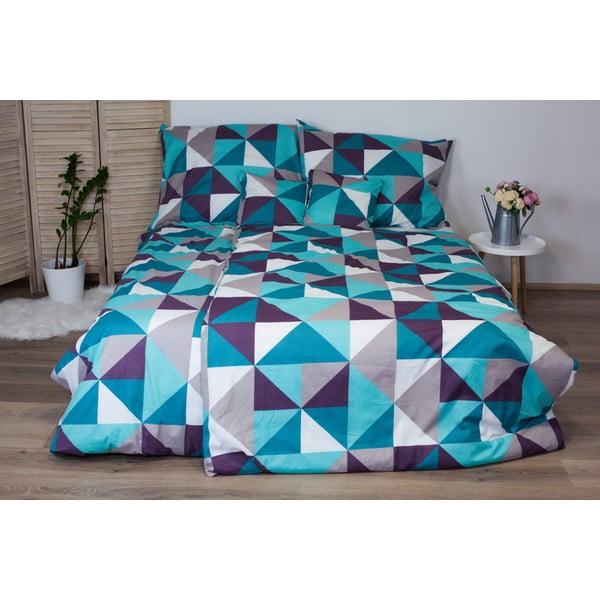 Lenjerie de pat din bumbac pentru o persoană Cotton House Trion Dimension, 140 x 200 cm