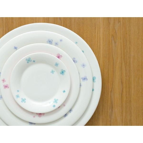 Sada 6 misek z kostního porcelánu Petal, 11 cm