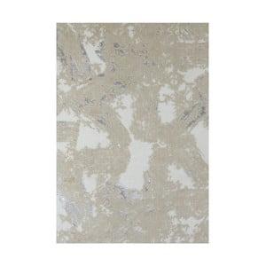 Béžová bavlněná koupelnová předložka My Home Plus Relax, 60 x 90 cm