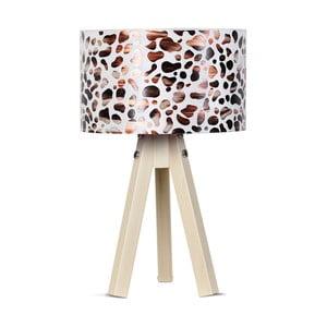 Stolní lampa Kate Louise Kahve Leopard