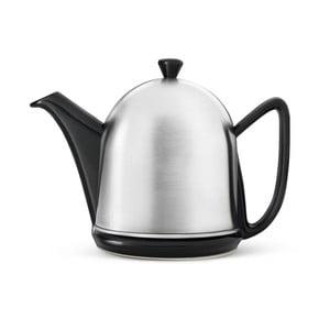 Ceainic negru cu infuzor Bredemeijer Manto, mat, 1l