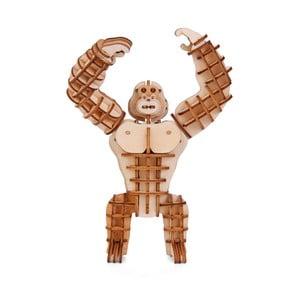 Puzzle 3D din lemn de balsa Kikkerland Gorilla