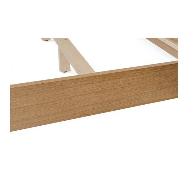 Dvoulůžková postel Woodman Farsta Herringbone, 180 x 200 cm