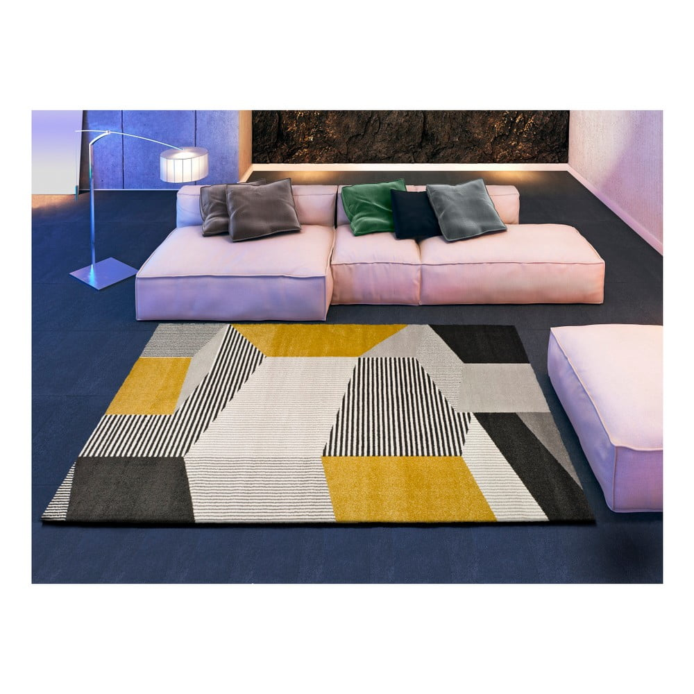 Produktové foto Šedo-béžový koberec Universal Elle Multi, 80 x 150 cm