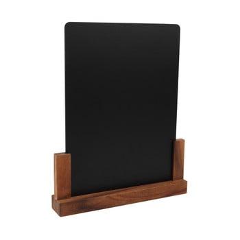 Tăbliță pentru cretă cu suport din lemn de salcâm T&G Woodware Rustic, înălțime 32 cm imagine