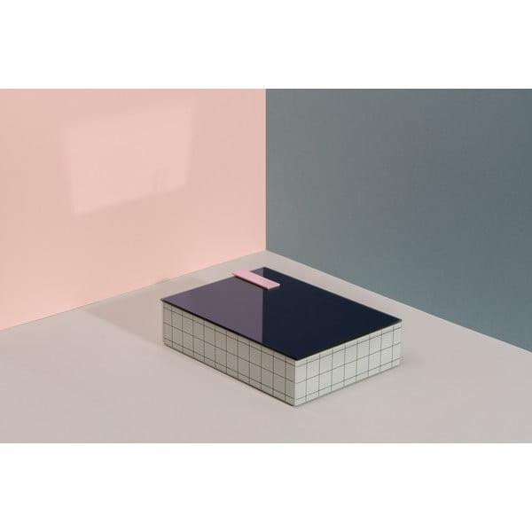 Dóza na šperky DOIY Pool, 23,8 x 17,3 cm