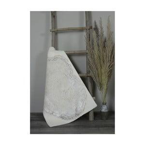 Krémová bavlněná koupelnová předložka My Home Plus Spa, 60 x 90 cm