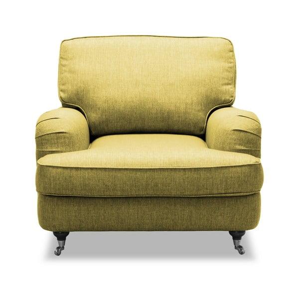 Žluté křeslo Vivonita William