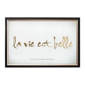 Tablou Cu Rama Graham & Brown La Vie Est Belle, 60 X 40 Cm