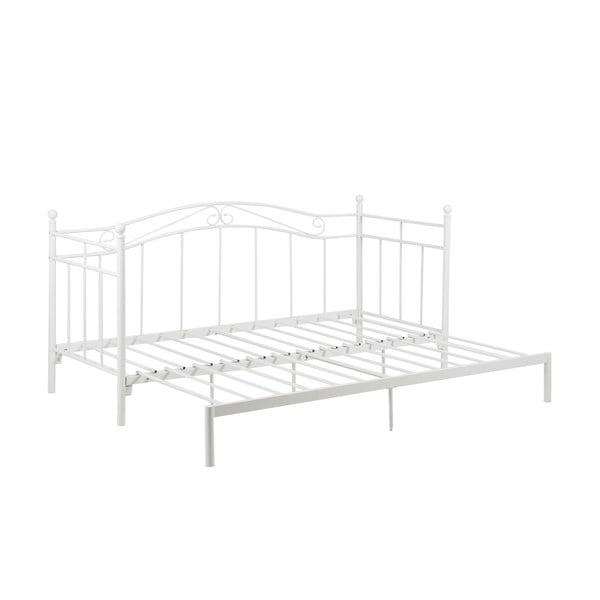 Bavo fehér kinyitható ágy, 80 -160x200cm - Actona