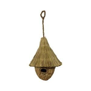 Ptačí budka z vodního hyacintu HSM Collection Bruin
