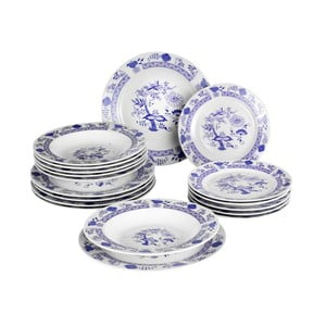 Sada 18 ks talířů Banquet Onion