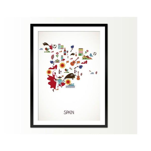 Zarámovaný obraz Spain, 50x70 cm
