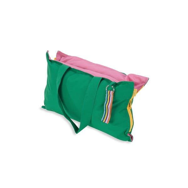 Skládací sedák Hhooboz 50x60 cm, zelený