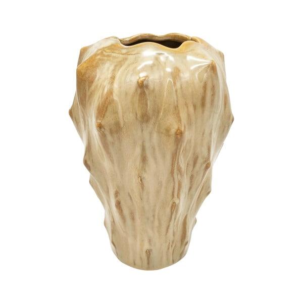 Piaskowy wazon ceramiczny PT LIVING Flora, wys. 23,5 cm