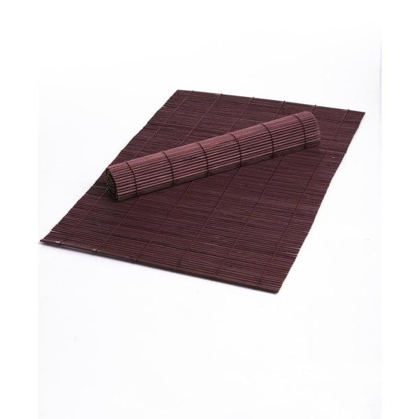 Sada 2 fialoých prestieraní z bambusu Bambum