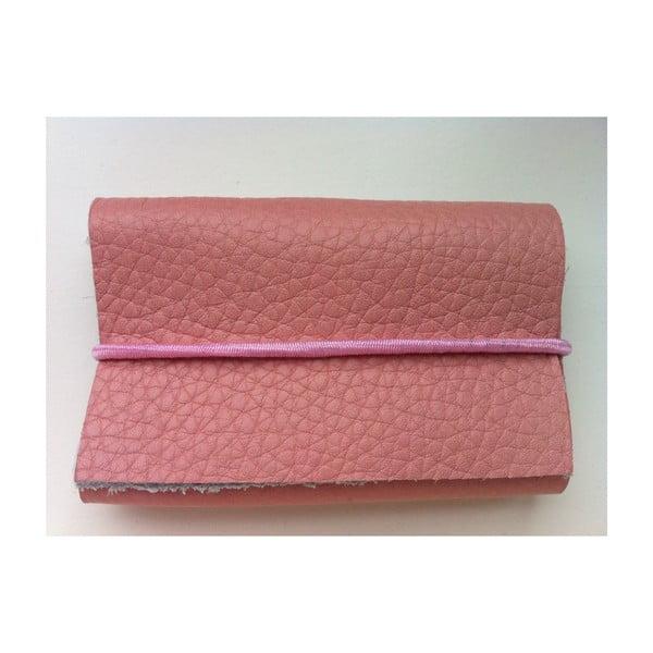 Peněženka Cotton Candy s růžovou a bílou gumičkou
