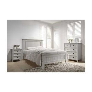 Dvoulůžková postel VIDA Living Mila Panel, 210 x 160 cm