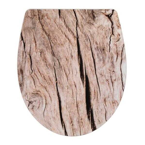Deska sedesowa wolnoopadająca Wenko Bois, 45x38,8 cm