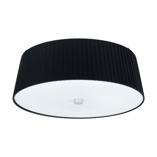 Černé stropní svítidlo Sotto Luce KAMI,⌀36cm
