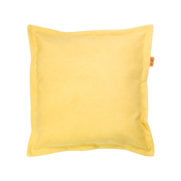 Polštář Gie El 43x43 cm, žlutý