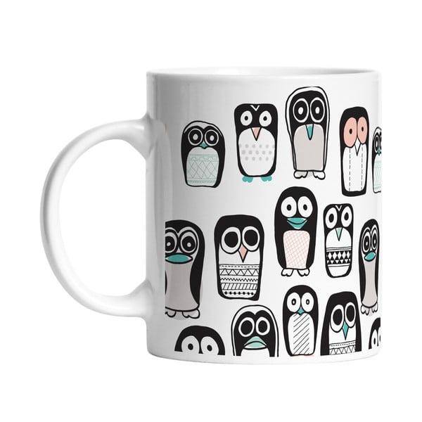 Keramický hrnek Penguin Group, 330 ml