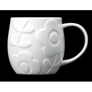 Hrnek z kostního porcelánu Plum Flower
