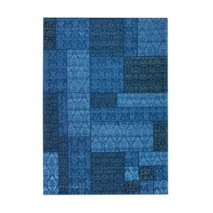 Koberec Patchwork 13 Blue, 140x200 cm