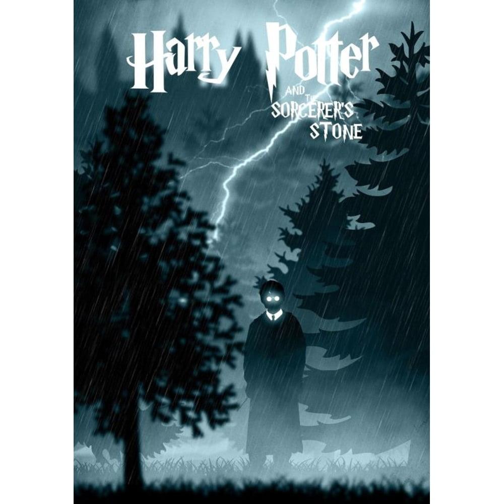 Plakát Blue-Shaker Harry Potter 8, 30 x 40 cm