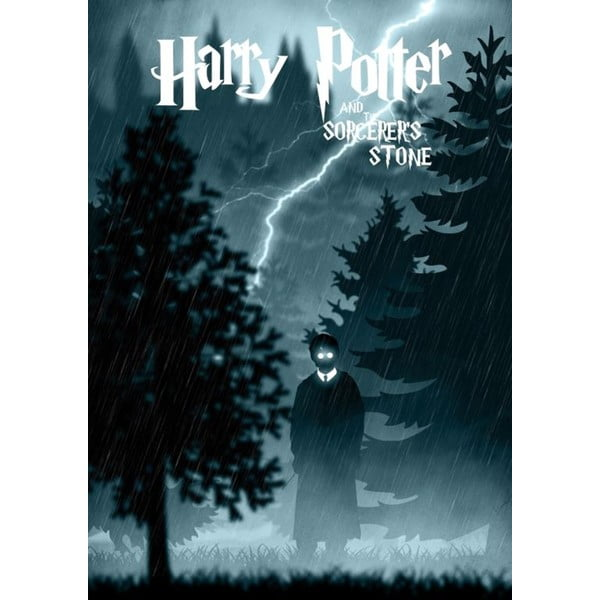 Harry Potter 8 poszter, 30 x 40 cm - Blue-Shaker