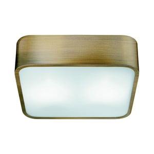 Stropní svítidlo Searchlight Flush, 30 cm, zlatá