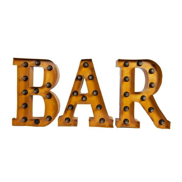 Nástěnná světelná dekorace Antic Line BAR Word